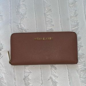 Pink Taupe Michael Kors Wallet